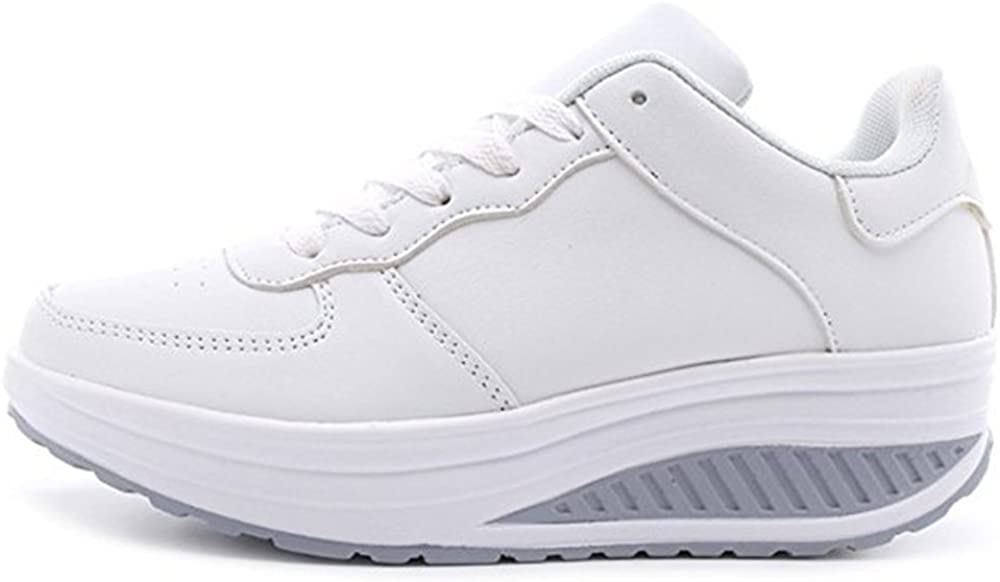 zhenghewyh Basket Femme Sport Chaussures Sneakers Filles Basses Multisports Outdoor