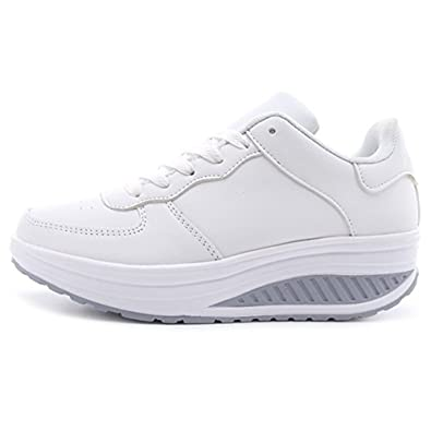 Nouvelles Chaussures Zhenghewyh Basket Femme Sport Chaussures Sneakers Filles Basses Yusaxucc-071702-0165775