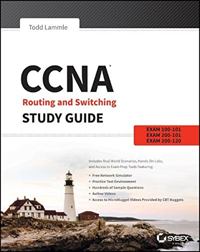 CCNA Routing and Switching Study Guide: Exams 100-101, 200-101, and 200-120 (Best Ccna Study Material)