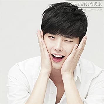 Amazon com : Lee Jong-suk boys with short hair wig Korea