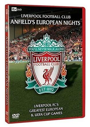 b9bf9684e08 Liverpool Fc  Anfield s European Nights  DVD   Amazon.co.uk ...