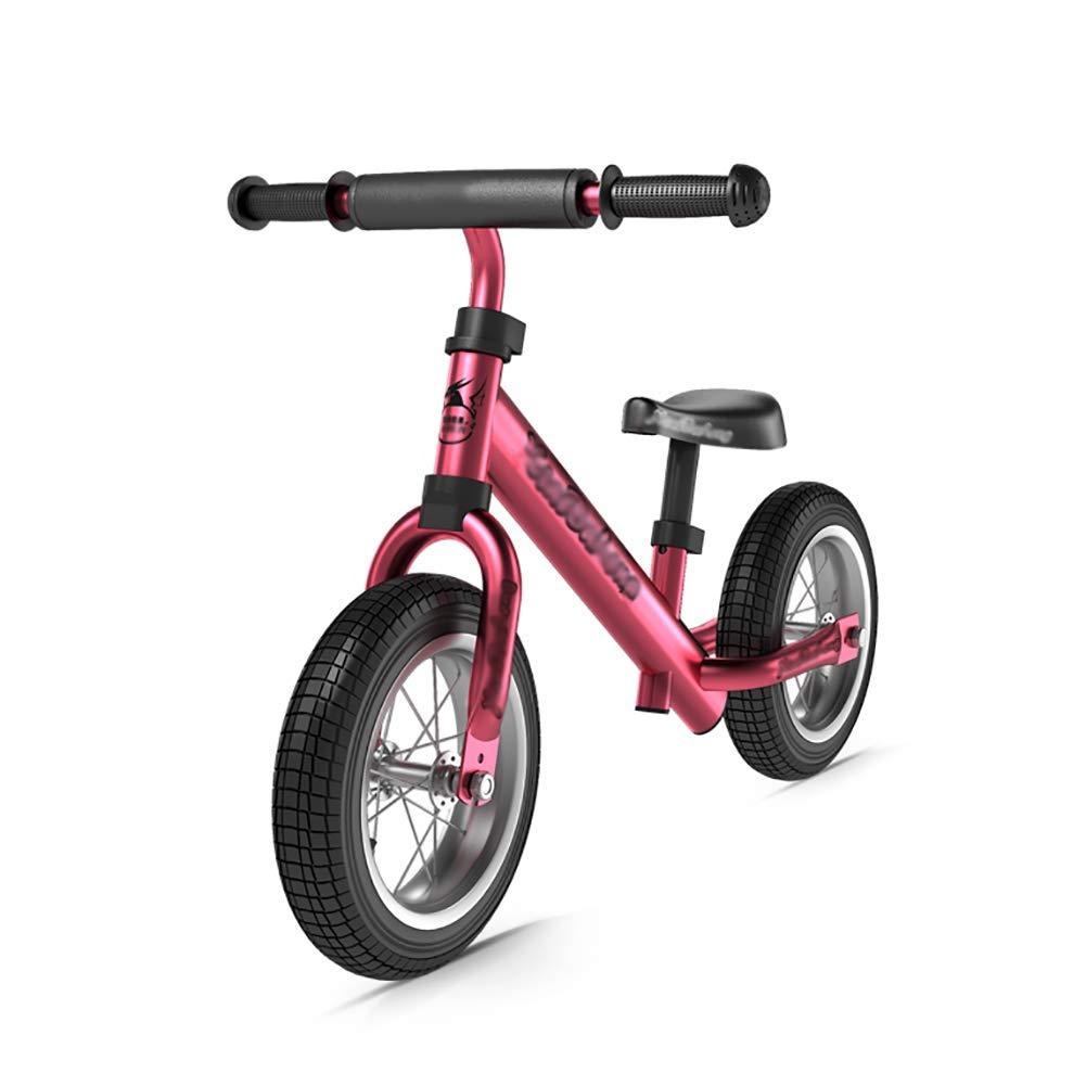 Biciclette senza pedali Bici da Bambino con Sedile Regolabile, Senza Pedali, Scarpe da Ginnastica Sportive con Gomma Air Tyre, età per 2-6 Anni