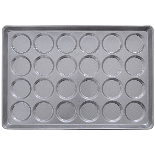 Chicago Metallic 42495 ePAN Hamburger/Muffin Top/Cookie Pan (Mold Round Bread)