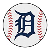 Fanmats Sports Team Logo MLB - Detroit Tigers Baseball Mat