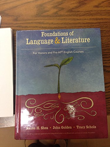 Foundations of Language and Literature by Bedford/St. Martin's