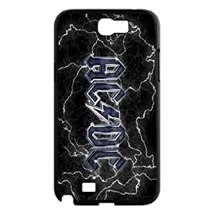 High Quality Phone Back Case Pattern Design 13AC/DC,Rock Band Series- For Samsung Galaxy Note 2 Case