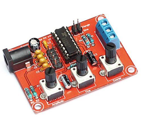 XR2206 Precise Function Signal Generator Frequency Module Signal Generator DIY Kit Sine Triangle Square Output Adjustable 1Hz-1MHz 9-12V DC Input Weewooday 2 Pieces Signal Generator Kit