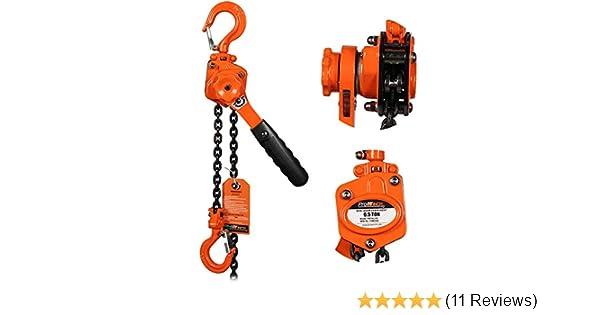 G80 Chain ProWinch 5 Ton Manual Chain Hoist 10 ft