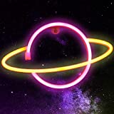 Planet Neon Signs Wall Decor, LED Neon Light USB