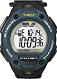 Timex Men's Digital Watch with LCD Dial Digital Display and Black Textile Strap T5K413