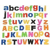 52 ALPHABET LETTERS MAGNETIC Lower/Upper Kids LEARNING TOY FRIDGE Language Study