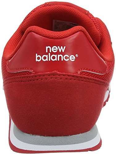 New Balance Kj373y, Zapatillas Unisex Niños Rojo (Red)