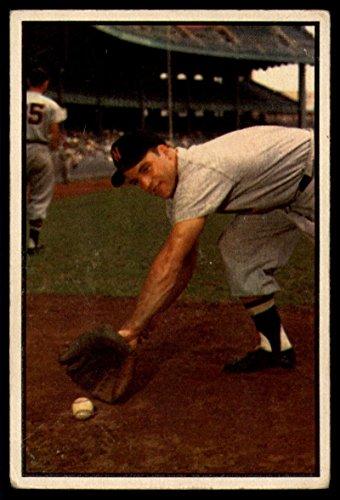 Baseball MLB 1953 Bowman Color #116 Eddie Yost VG Very Go...