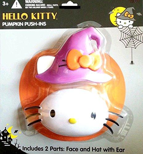 Hello Kitty Sanrio Pumpkin Push ins Witch