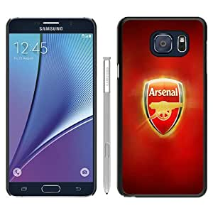 Popular Samsung Galaxy Note 5 Edge Cover Case ,Arsenal FC Logo Black Samsung Galaxy Note 5 Edge Case Hot Sale And Unique Designed Phone Case