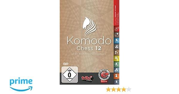Komodo 12 Chess Playing Software Program - World Champion