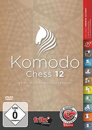 Price comparison product image Komodo 12 Chess Playing Software Program - World Champion