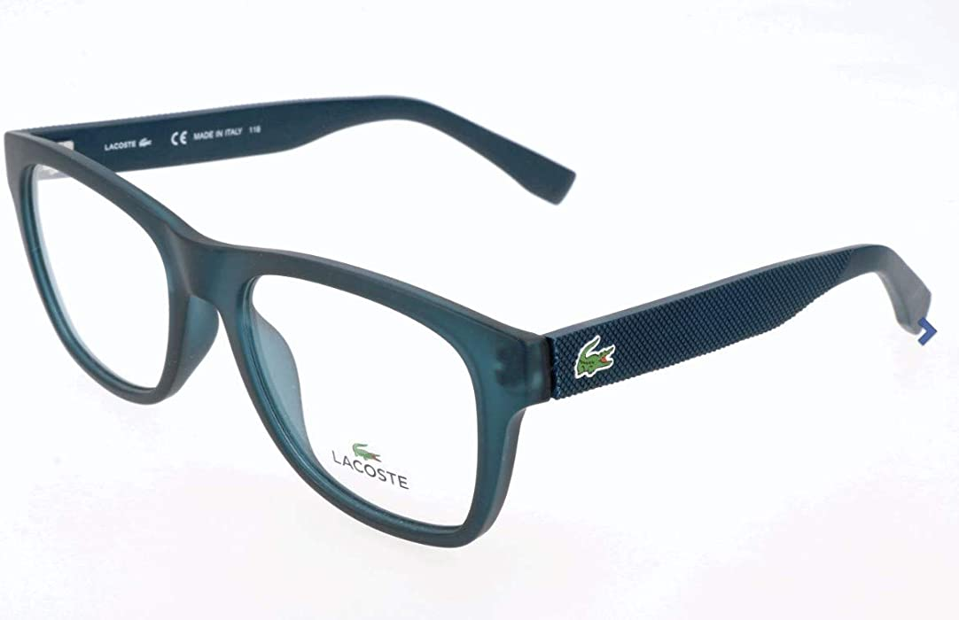 af57cb4a182 Amazon.com  Eyeglasses LACOSTE L 2766 466 PETROL MATTE  Clothing