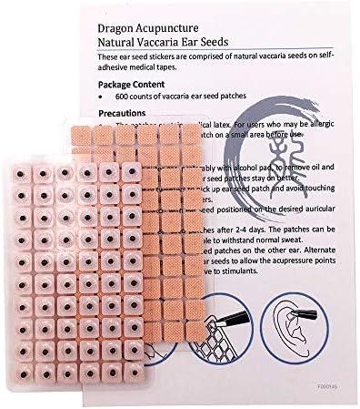 Dragon Acupuncture Paquete de Reposición con 300 Cuentas Semillas ...