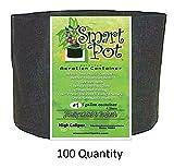 Smart Pot Black 1 Gallon - BULK PACK of 100