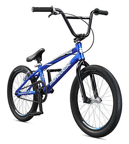 Mongoose Title Pro XXL BMX Race Bike for Beginner to Intermediate Riders, Featuring Lightweight Tectonic T1 Aluminum Frame and Internal Cable Routing with 20-Inch Wheels, - Bmx Cog