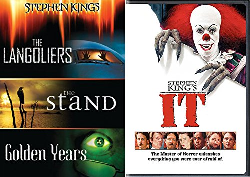 Stephen King's It + The Langoliers / The Stand / Golden Years DVD Collection the Master of Horror Feature movie set bundle
