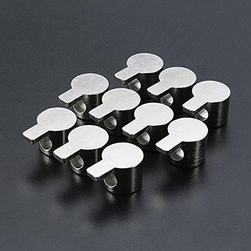 ChaRLes Machifit 10 Unids Interior Esquina Conector Soporte De Perfil De Aluminio Accesorios Para 4040 Series