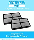 2 Replacement    A Filter Fits Table Top Air Cleaning System AC4010, Compare to Part # FLT4010, Designed & Engineered by Crucial Air