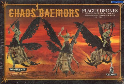 Chaos Daemon Plague Drones by Games Workshop