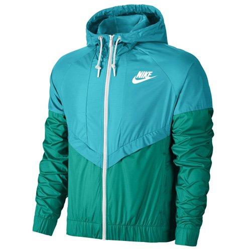 Nike Windrunner–Chaqueta Azul - Omega Blau/Rio Teal/Weiß