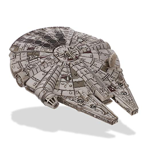 (Hallmark Keepsake Christmas Ornament 2018 Year Dated, Star Wars Millennium Falcon with Light and Sound)