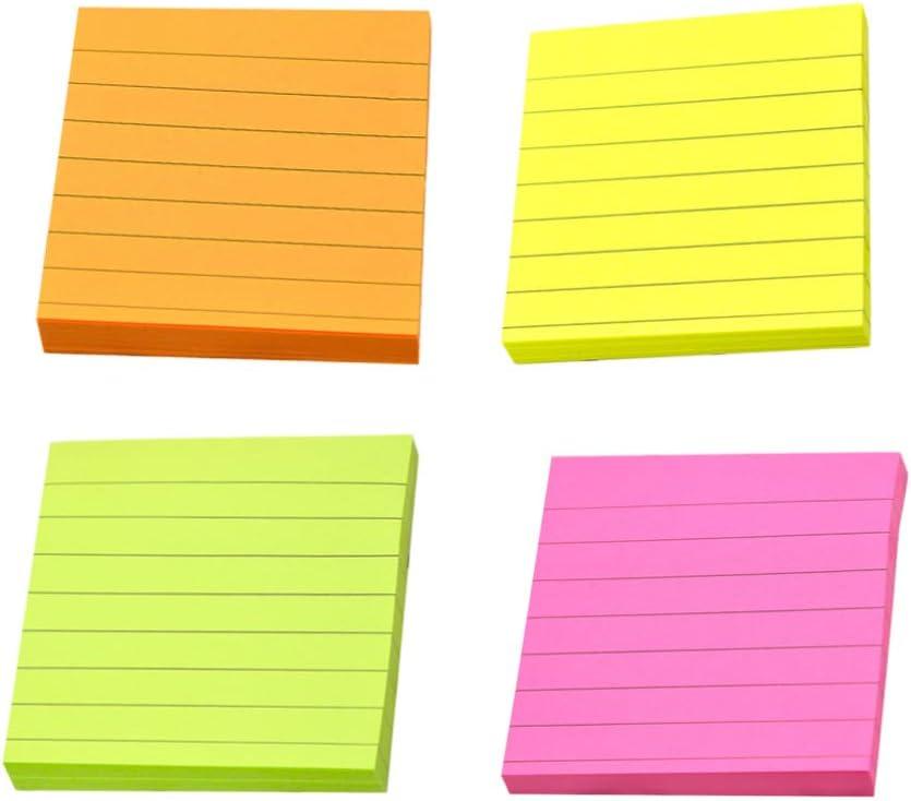 notas autoadhesivas para oficina en casa 6 estilos luna 12 almohadillas//paquete 30 hojas//bloc Notas adhesivas de NuoBESTY Planet