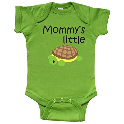inktastic - Mommys Little Turtle Infant Creeper 6 Months Apple Green 1827f