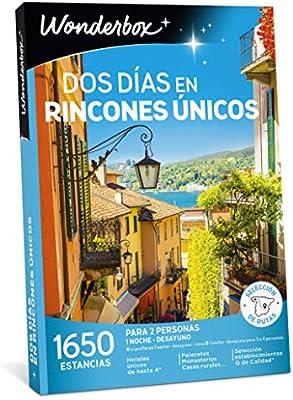 WONDERBOX Caja Regalo - Dos DÍAS EN RINCONES ÚNICOS - 1.650 ...