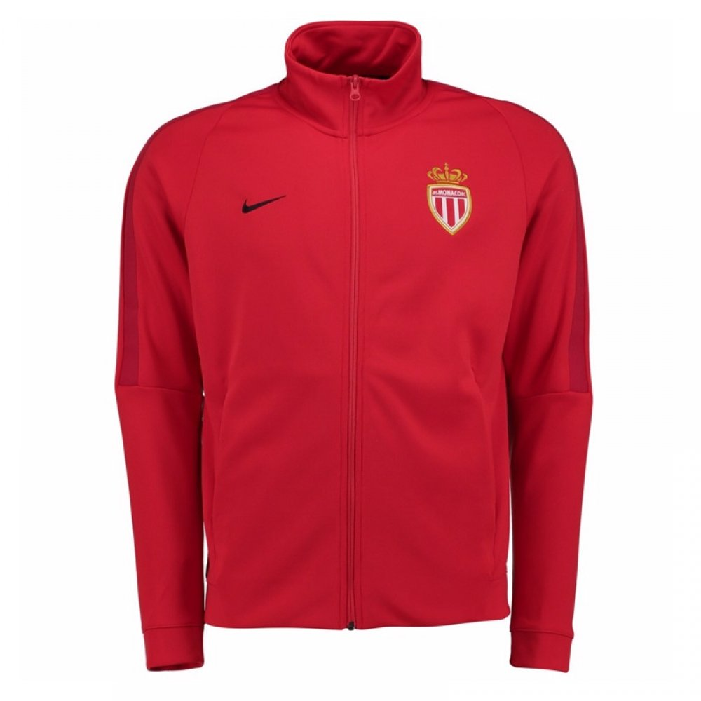 2017-2018 Monaco Nike Authentic Franchise Jacket (Red) B0752B3LJ6Red XL 46-48\