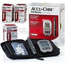 Accu Chek Performa Glucometer Kit with 110 Test Strips