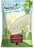 Organic Jasmine Rice by Food to Live (Raw White Rice, Whole Grain, Non-GMO, Kosher, Bulk, Product of the USA) — 5 Pounds