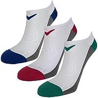 Callaway Ladies 2018 No Show Opti-Dri Pack of 3 Performance Trainer Socks