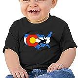 YUEskd Colorado USA Wrestling Baby Boys Girls Summer Short Sleeve Crew Neck T-Shirt for 6-24 Month Tops