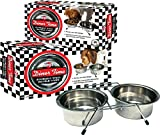 Ethical 1-Quart Stainless Steel Double Diner