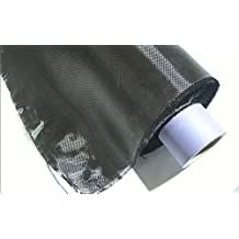 ZJ SPORT Carbon Fiber 3K Plain Woven Fabric 0.2mm Thick 200g Carbon Yarn Weave Cloth 39inches*43inches