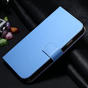 For Note 3 Magnetic Case Luxury Leather Case For Samsung Galaxy Note 3 N9000 N7200 Flip Mobile Phone Cover Stand Card Slot Blue-Blue