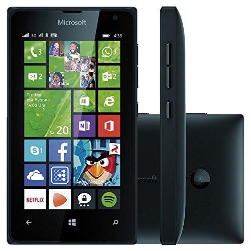 Microsoft Lumia 435 UNLOCKED Windows Phone 8 WP8 2G GSM 850/900/1800/1900MHZ, 3G 850/900/1900/2100MHZ - Black (International version, No Warranty)