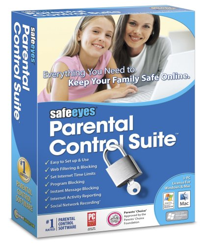 Safe Eyes Parental Control Suite - Web Filter Software