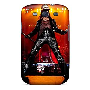 JohnPrimeauMaurice Samsung Galaxy S3 Perfect Cell-phone Hard Cover Customized Fashion Alice Cooper Band Image [qlj17546lOGs]