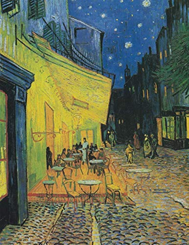 - 2019 Daily Planner: Vincent Van Gogh's Beautiful Café Terrace at Night on a practical full sized page a day calendar will help  keep you organized in style! (Van Gogh Planner)