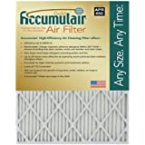 Accumulair Gold 12x30x0.5 (Actual Size) MERV 8 Air Filter/Furnace Filters (4 pack)