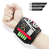 PowerGiant Magnetic Tool Wristband with 15 Magnets for Holding Screws Nails Drill Bits - Gift for Men, DIY Handyman, Electrician, Father, Husband, Boyfriend