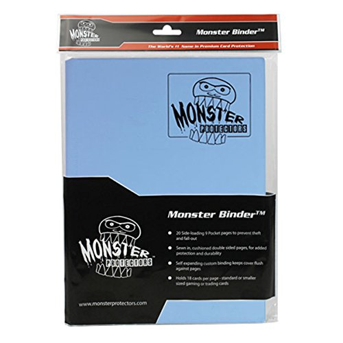 Monster Binder - 9 Pocket Trading Card Album - Matte Delt...