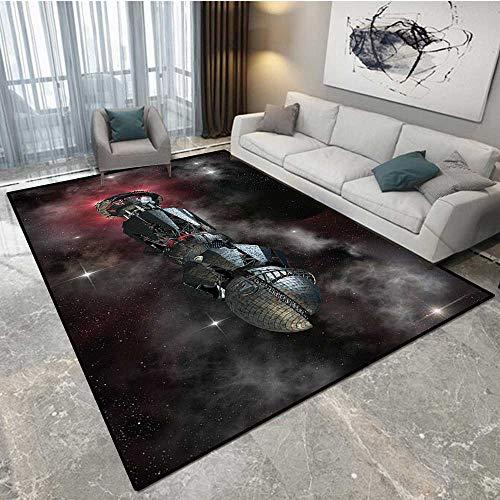 Anhounine Galaxy Hoover Carpet Shampoo Spaceship in Interste